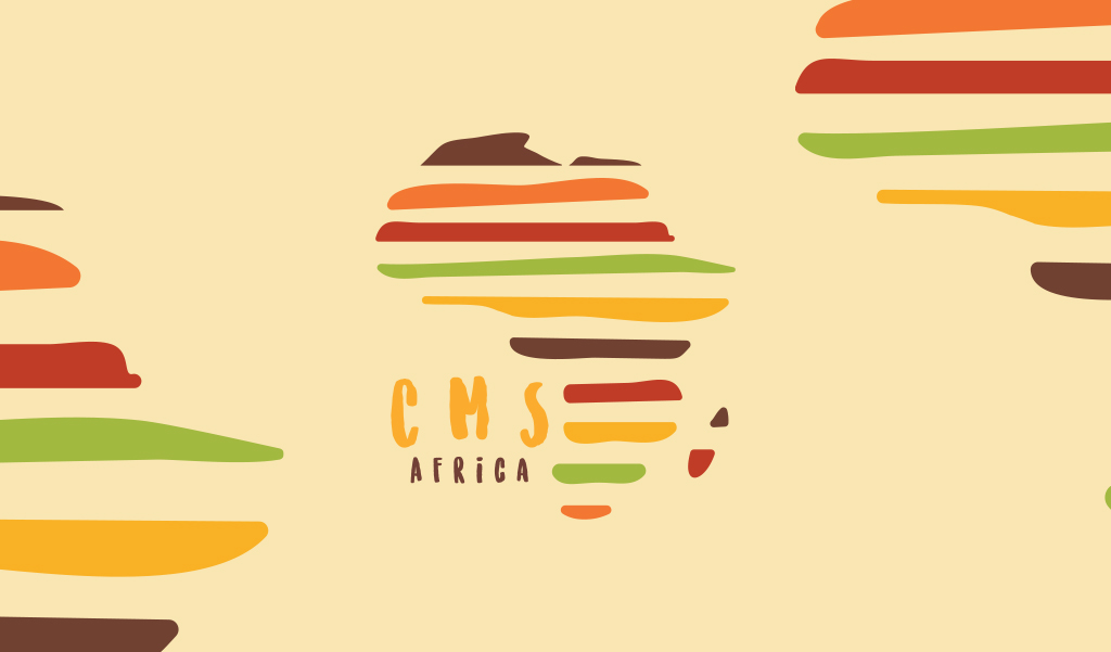 CMS logo wallpaper